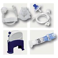 Accessoires nécessaires à la mise en place de la pompe